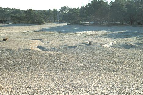 waar vind erosie plaats